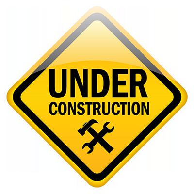 under construction در حال ساخت