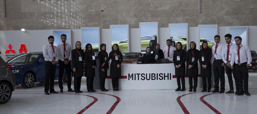 میتسوبیشی در نمایشگاه خودرو تهران