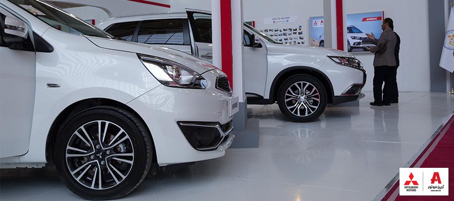 حضور قدرتمند میتسوبیشی در نمایشگاه خودرو البرز