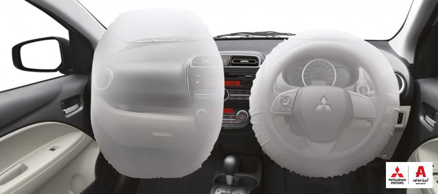 انواع ایربگ در خودرو