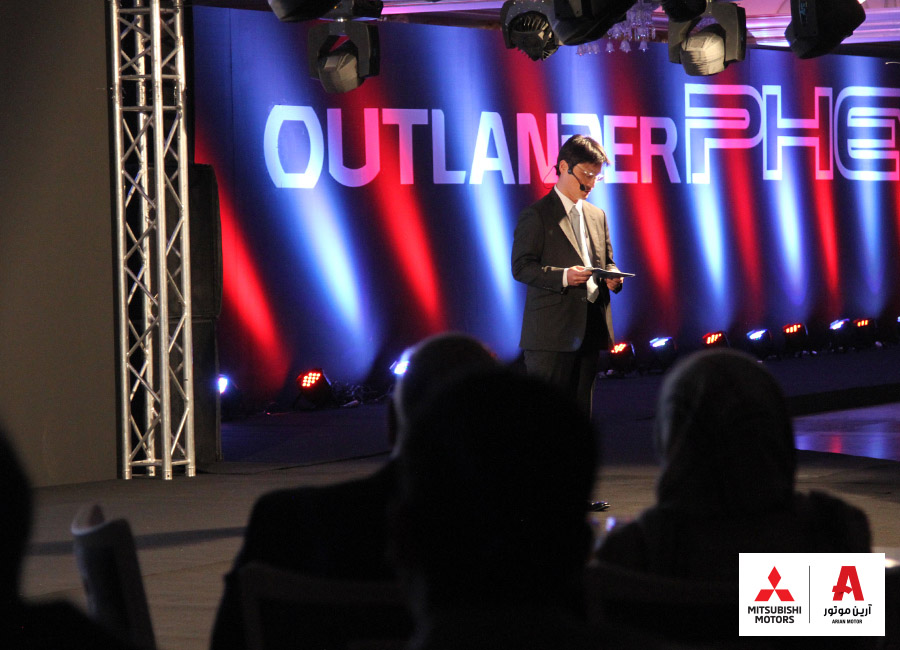 Outlander phev unveiling رونمایی میتسوبیشی اوتلندر PHEV در ایران