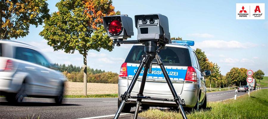 تاریخچه دوربین کنترل سرعت و نحوه کارکرد آن