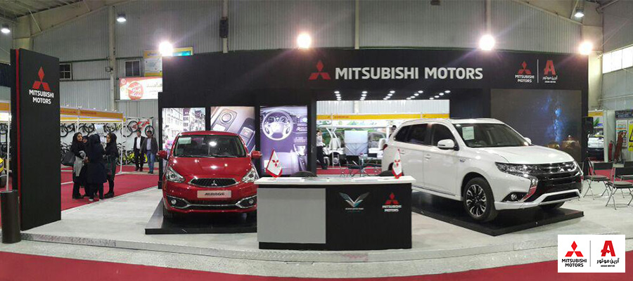 isfahan clean transportation میتسوبیشی در نمایشگاه خودروی پاک اصفهان