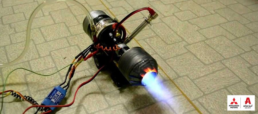 ساخت موتور توربوشارژر دستساز
