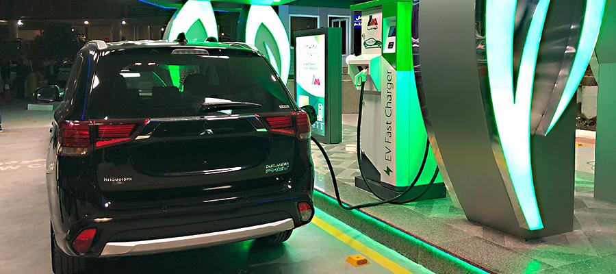 نخستین جایگاه شارژ سریع خودروهای برقی در ایران